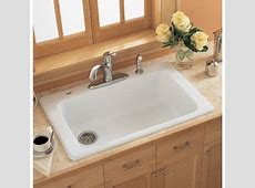 American Standard 7193.804.345 Bisque Single Basin Americast Kitchen Sink from the Lakeland