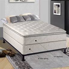 spinal solution orthopedic 10 quot firm mattress with box