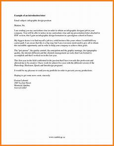 Introduction Email Sample 9 Introduction Email For Job Introduction Letter