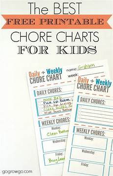Weekly Chores Remodelaholic 36 Free Printable Organizers For A