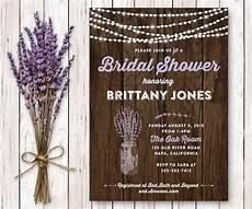 twinkle lights printable shower invitation rustic bridal