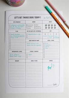Todo Lis No Excuses 20 Free Printable To Do Lists Brit Co
