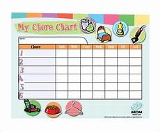 Chore Chart Template Word 17 Chore Chart Template Free Sample Example Format