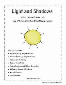 First Light Book Pdf Light And Shadow A Physical Science Unit For K 2