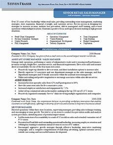 Cv Of Store Manager Store Manager Resume Example