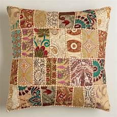 patchwork throw pillow world market