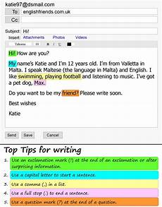 Email Introducing Yourself Introducing Yourself By Email Learnenglish Teens
