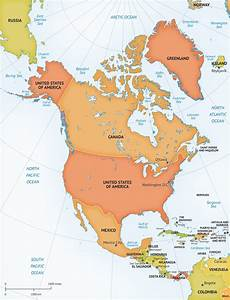 World Map Of North And South America Destination Maps South American Vacations