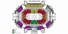 Betty Engelstad Arena Seating Chart Ralph Engelstad Arena Maps