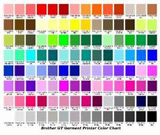 The Color Of Chart Working With Artwork Print Color Chart
