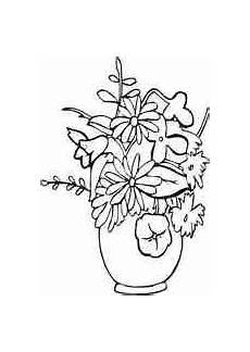 Ausmalbilder Blumenvase Ausmalbilder Blumenvasen6 Blumenzeichnung Blumen Vase