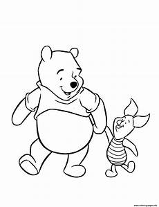 winnie the pooh friendship with piglet pig s to printbb37