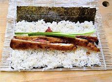 Teriyaki Chicken Sushi Roll Recipe   Easy Homemade Sushi