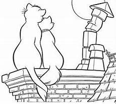 the aristocats coloring picture