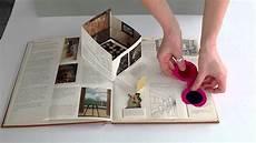 Art Design Book Interactive Art Book Youtube