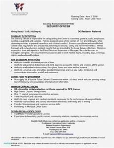 Correctional Officer Resume Correctional Officer Resume Template Resume Samples