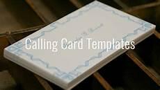 Sample Calling Card Format Calling Card Template 16 Free Sample Example Format