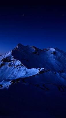 blue wallpaper 4k iphone sky snow mountain peak iphone 6 plus hd