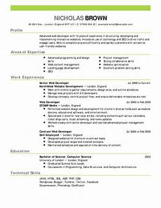 Great Resumes Template What Is Best Example Of Good Resume Good Resume Samples