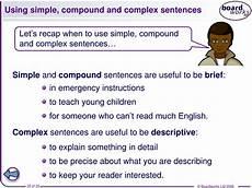Simple Compound Complex Sentences Ppt Complex Sentences Year 7 Sentence Starters