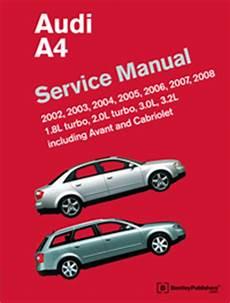 Audi A4 A4 Quattro S4 2005 2011 Books Amp Technical