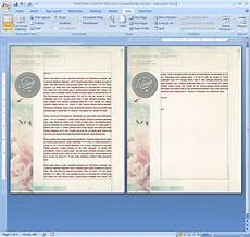 Designs For Microsoft Word How To Repeat A Logo And Address On Each Page Of Your