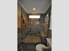 cary guest bath remodel   slate   Traditional   Bathroom   Raleigh   by Rebekah Lindsey