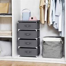 songmics chest of drawers non woven fabric storage unit