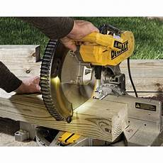 Saw Blade Light 12 Quot 305mm Double Bevel Compound Miter Saw With Cutline