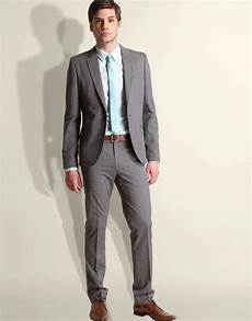 What Color Shirt With Light Gray Suit Grey Suit White Shirt Coloured Tie Dream Wedding