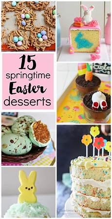 15 springtime easter desserts