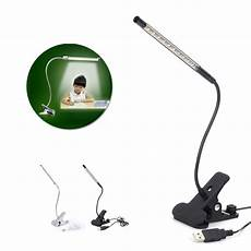 Clamp Reading Light New 10 Led Usb Clip On Table Lamp Led Clamp Reading Study