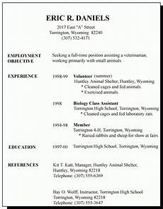 Template For First Resume 12 13 Resume Sample For First Time Job Seeker