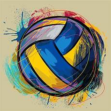 Cool Volleyball Designs Cool Colored Volleyball Images Google Search