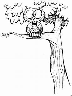 Malvorlagen Comics Eule Auf Einem Baum Ausmalbild Malvorlage Comics