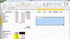 Microsoft Excel Budget The Basics Of Microsoft Excel How To Create A Budget And