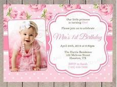 First Birthday Invitation Templates Free 26 Photo Birthday Invitation Templates Psd Vector Eps