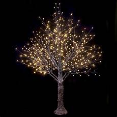 Warm White Christmas Lights Outdoor Brown Snowy Twig Tree Warm White Led Lights Christmas