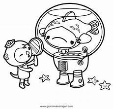 Oktonauten Malvorlagen Quest Oktonauten 4 Gratis Malvorlage In Comic Trickfilmfiguren