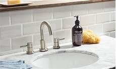 bathroom sink backsplash ideas how to install a tile backsplash in the bathroom