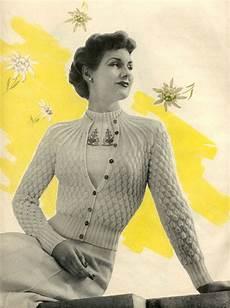 midsummer white vintage knitting pattern