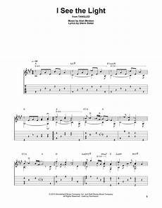I See The Light Guitar I See The Light By Alan Menken Solo Guitar Guitar