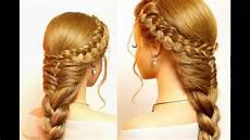 easy hairstyles for long hair cute braids tutorial youtube