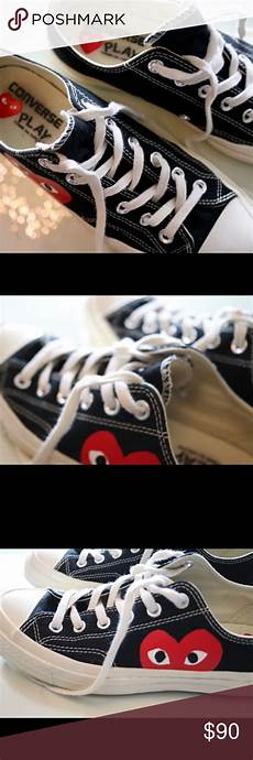 Comme Des Garcons Shoes Size Chart Comme Des Gar 231 Ons Black Converse Make An Offer Black