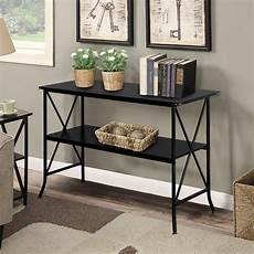 veryke narrow console table 2 layers sofa table iron