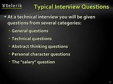 Typical Interview Questions Typical Interview Questions At A