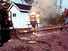 Thermite Welding Railway Photoblog Cnr Quot Thermite Welding Quot Cn Rail 1980 S