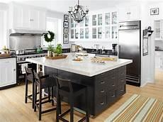 black kitchen islands black kitchen island transitional kitchen hgtv