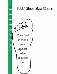 Measure Toddler Shoe Size Chart Printable Kids Shoe Size Chart Scope Of Work Template