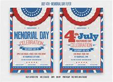 Memorial Day Flyer July 4th And Memorial Day Flyer Flyer Templates On